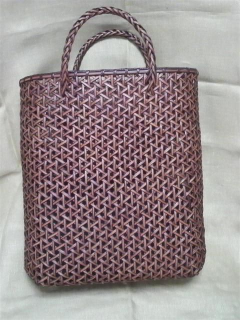 Rattan craft bag