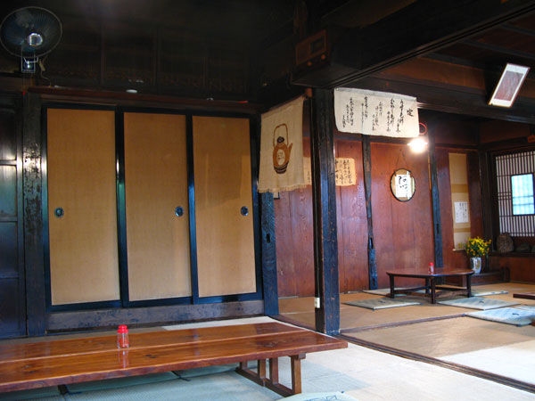soba shop inside