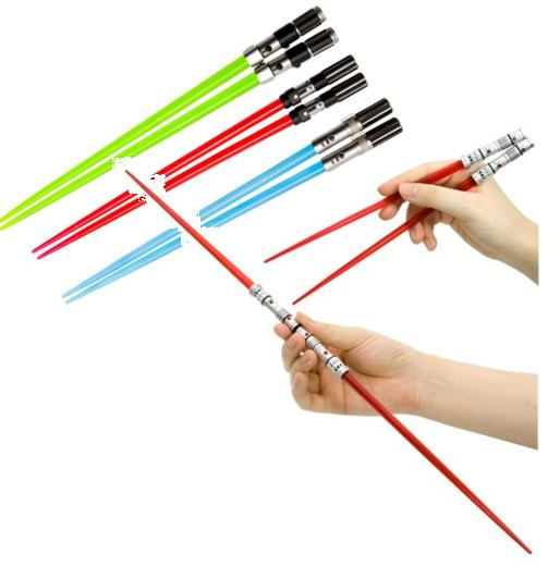 Lightsabar chopsticks