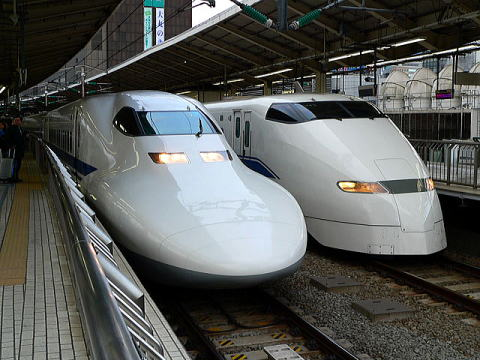 Tokaido bullet trains