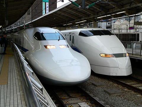 Tokaido bullet trains